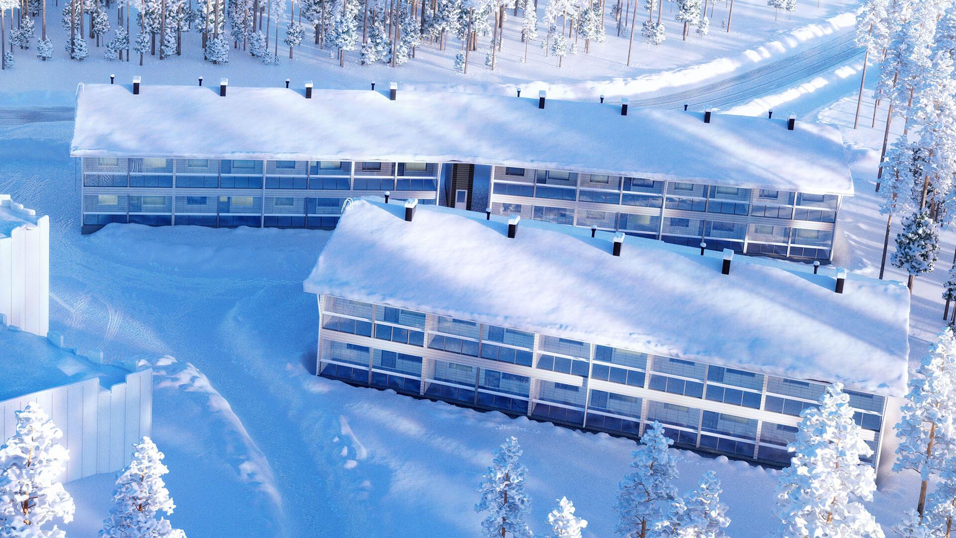 myytävät loma asunnot ulkomailla Kuusamo